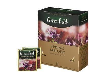 Чай Greenfild 100 пакетов (в ассортименте)