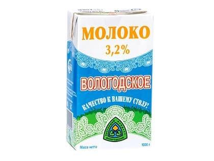Молоко Вологодское 3,2%