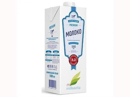 Молоко Милкавита 1 л. 3,2 %