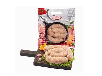 Колбаски для жарки фас. 600 гр.