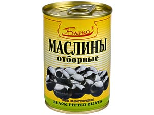 Маслины без косточки (Барко, 280 гр.)