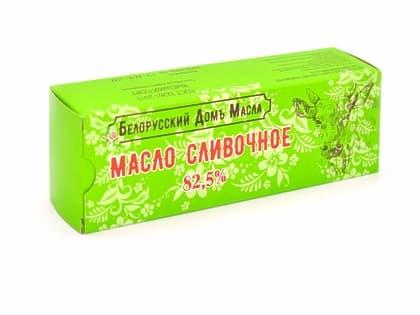 Масло сливочное 82,5 % (фас. 500 гр.) Белорусский Домъ Масла