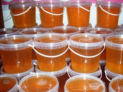 Мед натуральный 1 кг.