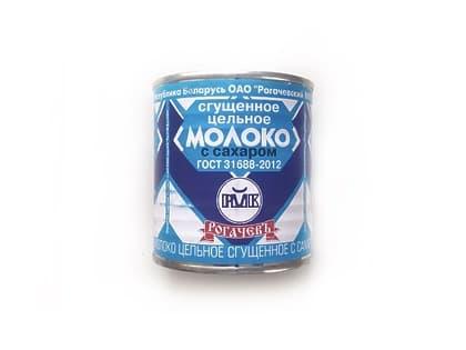 Молоко сгущеное 380гр. (Рогочев)