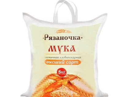Мука высший сорт (мешок 5 кг.)