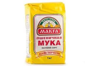 """Мука """"Макфа"""" 2 кг."""
