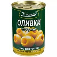 Оливки без косточки (Барко, 280гр.)