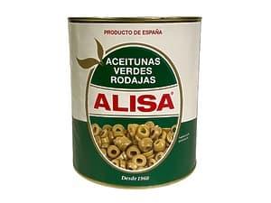 Оливки резанные Alisa