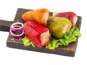 Перец фаршированный овощной (Постный)