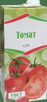 Сок томатный 1 л. в тетропаке