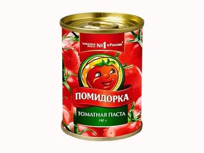 Томатная паста помидорка 140 гр.
