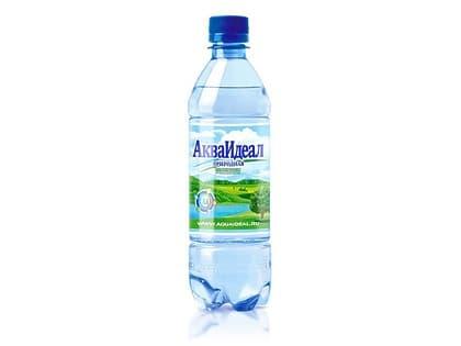 Вода АкваИдеал спорт газированная 0,5 л.